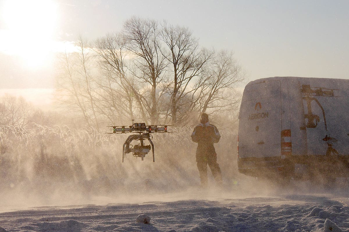 AERIGON drone Newton Nordic