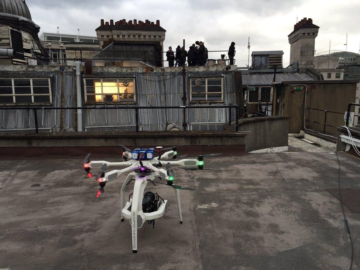 AERIGON drone: Bond Spectre