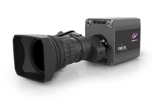 Grass Valley LDX 86 Compact 4K camera to NEWTON stabilized head