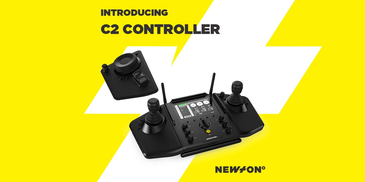 NEWTON C2 controller for stabilized remote camera heads launch