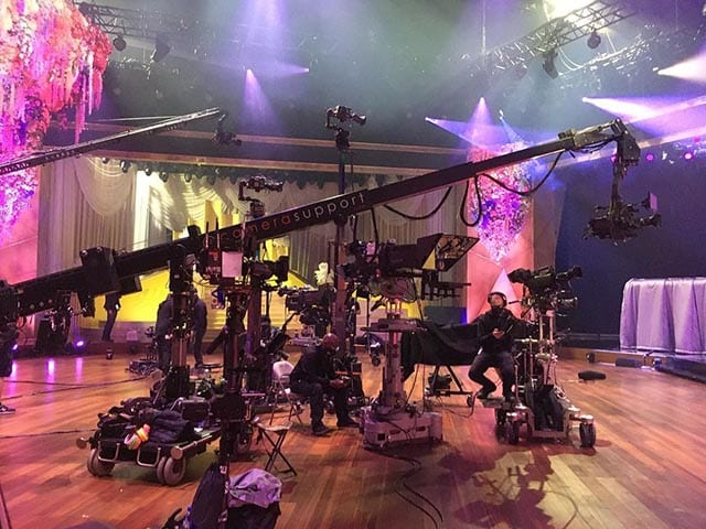 NEWTON stabilized remote head and TV camera systems at Grammy Awards 2021