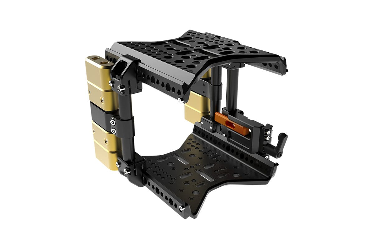 NEWTON stabilized remote head Camera Cage