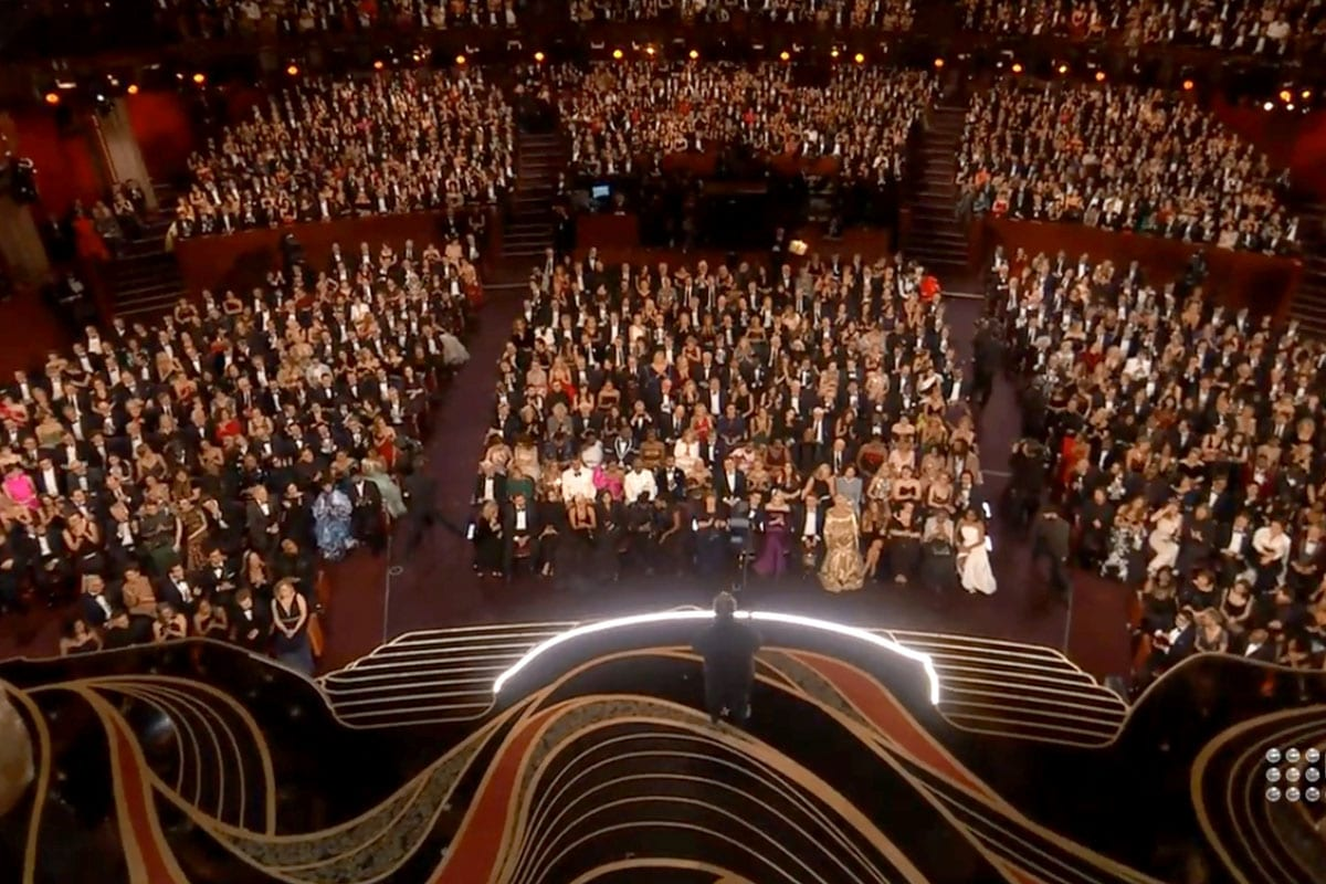 Newton stabilized head at the oscars 2019