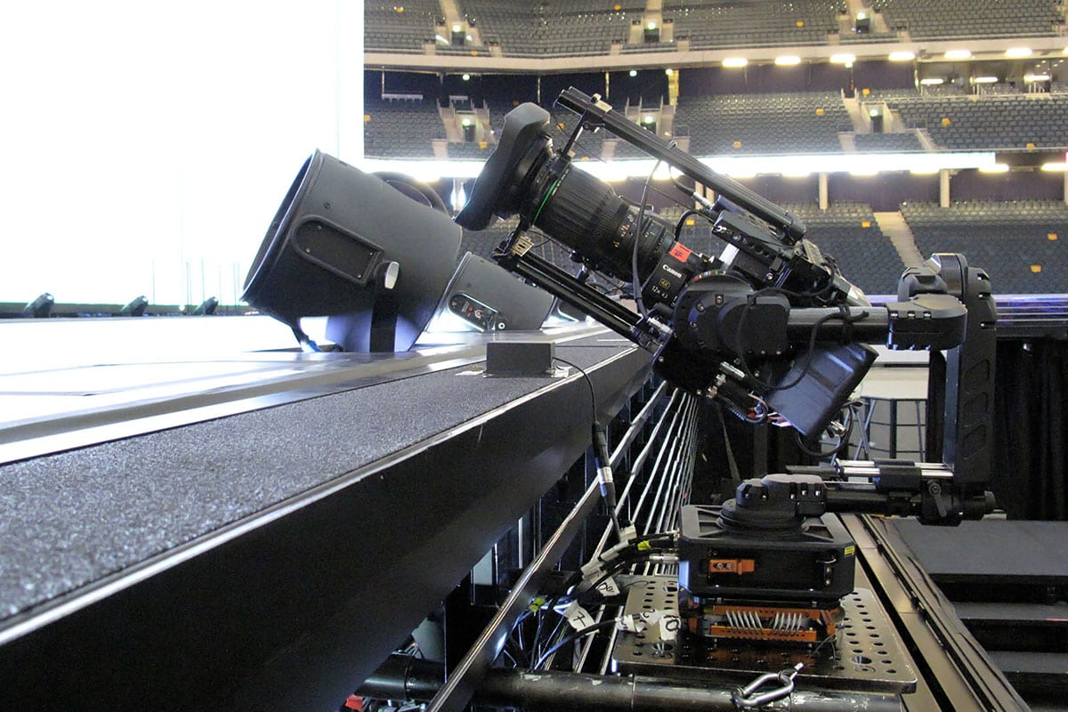 Newton stabilized head on Beyonce tour 2018