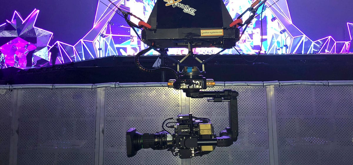 Newton stabilized head on cable cam skywalker systems korea