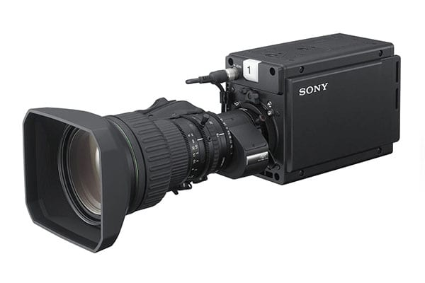 Sony P50 4K camera to NEWTON stabilized head