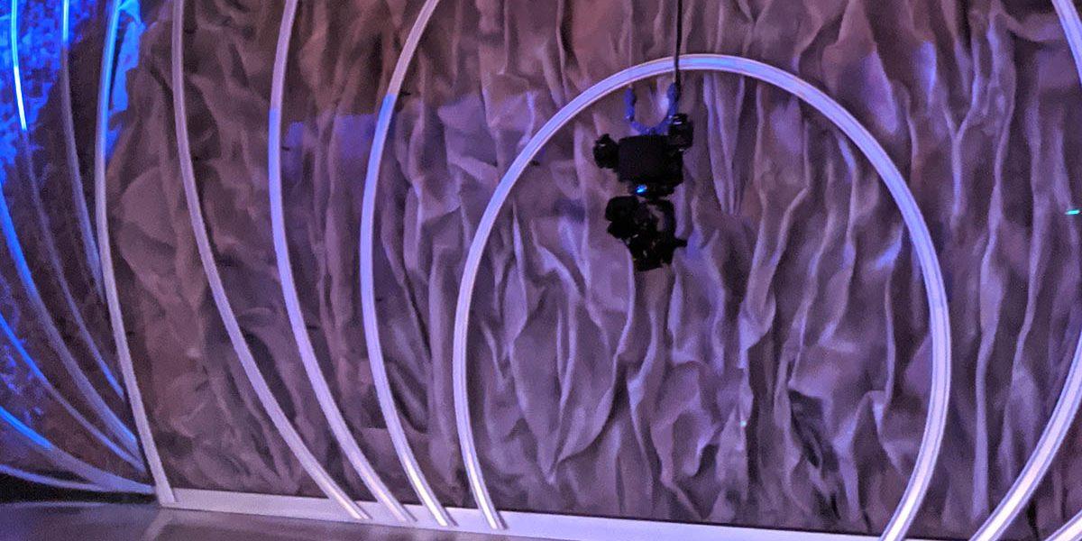 NEWTON stabilized head on SpeedWinch at the Oscars 2020
