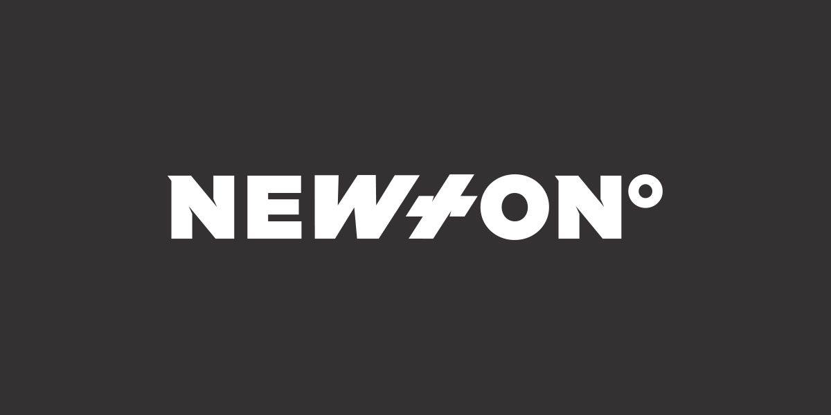 Newton Nordic logo white